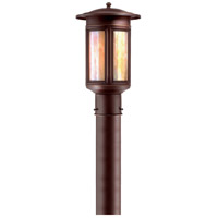 Highland Park 1 Light 15 inch Oil Rubbed Bronze Post Lantern