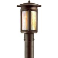 Troy Lighting PIH6915OB Highland Park 1 Light 17 inch Oil Rubbed Bronze Post Lantern
