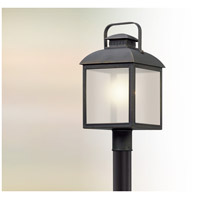 Troy Lighting PL5085 Chamberlain LED 20 inch Vintage Bronze Post Lantern