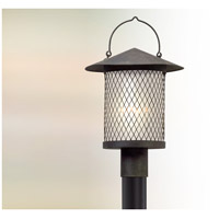 Altamont LED 19 inch French Iron Post Lantern