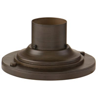 Round Base Pier Mount 4 inch Centennial Rush Pier and Post Accessory in Centennial Rust