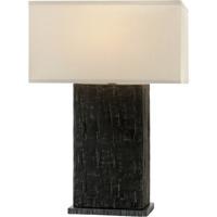 Troy Lighting PTL1001 La Brea 27 inch 60 watt Anthracite Table Lamp Portable Light