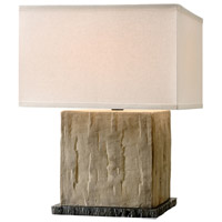 Troy Lighting PTL1002 La Brea 20 inch 60 watt Sandstone Table Lamp Portable Light