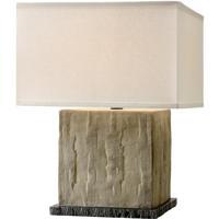 Troy Lighting PTL1002 La Brea 20 inch 60 watt Sandstone Table Lamp Portable Light