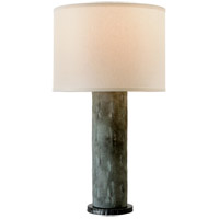 Troy Lighting PTL1004 La Brea 33 inch 60 watt Slate Table Lamp Portable Light photo thumbnail