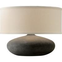 Troy Lighting PTL1007 Zen 14 inch 60 watt Alabastrino Table Lamp Portable Light