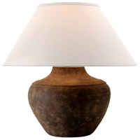 Troy Lighting PTL1010 Calabria 21 inch 150 watt Sienna Table Lamp Portable Light