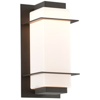Troy Lighting BL4601BZ Paradox LED 12 inch Bronze Outdoor Wall Sconce
