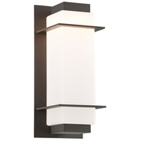 Troy Lighting BL4602BZ Paradox LED 15 inch Bronze Outdoor Wall Sconce
