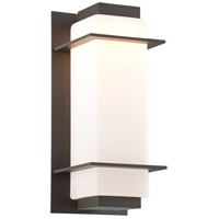 Troy Lighting BL4603BZ Paradox LED 17 inch Bronze Outdoor Wall Sconce
