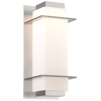 Troy Lighting BL4603SA Paradox LED 17 inch Satin Aluminum Outdoor Wall Sconce