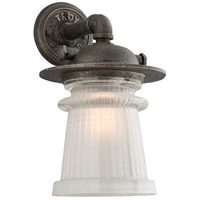 Pearl Street 1 Light 17 inch Charred Zinc Outdoor Wall Sconce