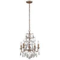 Troy Lighting F4743 Siena 4 Light 21 inch Vienna Bronze Chandelier Ceiling Light