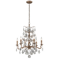 Troy Lighting F4744 Siena 6 Light 27 inch Vienna Bronze Chandelier Ceiling Light
