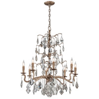 Troy Lighting F4745 Siena 8 Light 32 inch Vienna Bronze Chandelier Ceiling Light
