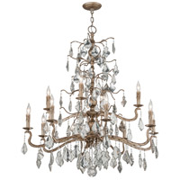 Troy Lighting F4746 Siena 12 Light 42 inch Vienna Bronze Chandelier Ceiling Light