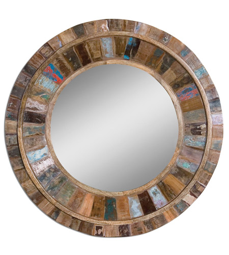 Uttermost 04017 Jeremiah 32 X 32 inch Wall Mirror photo