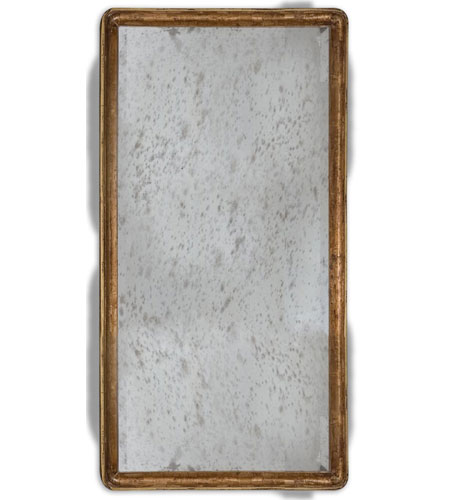 Uttermost 05025 Piave 36 X 24 inch Antiqued Gold Leaf Wall Mirror