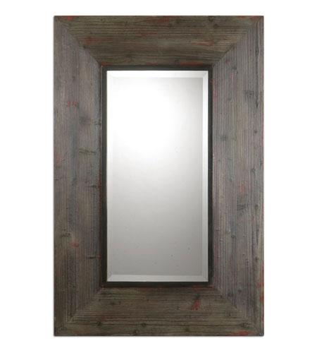 Uttermost 07620 Cullman 60 X 40 Inch, 60 X 40 Wood Frame Mirror