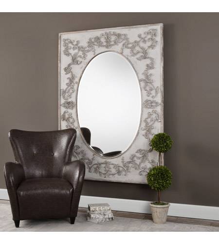 Uttermost 09132 Modena 70 X 51 inch Ivory Wall Mirror, Oversized 09132-A.jpg