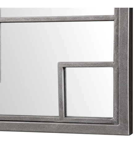 Uttermost 09141 Sevan 72 X 28 inch Antiqued Silver Wall Mirror, Oversized 09141-A.jpg