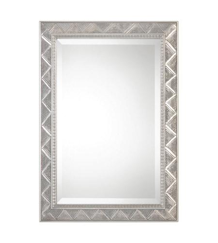 Uttermost 09172 Ioway 34 X 24 inch Metallic Silver Wall Mirror