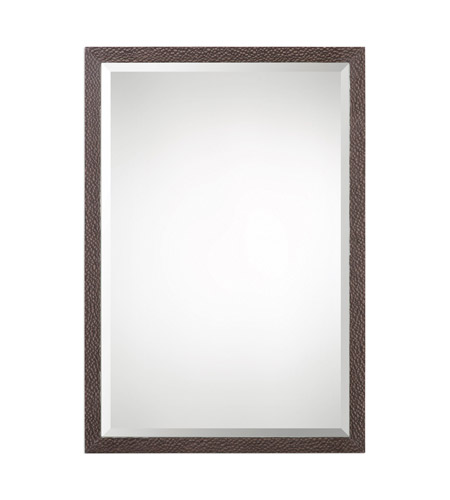 Uttermost 09173 Michaela 32 X 22 inch Brazilian Oak Wall Mirror