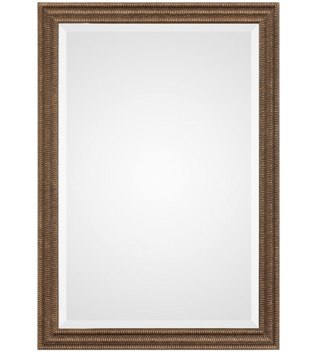 Uttermost 09358 Rydal 34 X 24 inch Distressed Bronze with Gold Wall ...