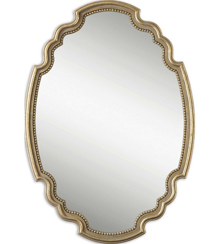 Uttermost 12821 Terelle 39 X 28 inch Antique Gold Leaf Wall Mirror