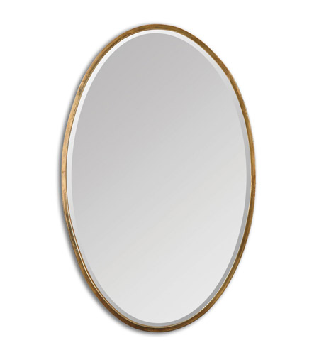 Trampoline Sale 55 8 11 12 13 14 15 17 X15 Oval: Herleva Oval 28 X 18 Inch Gold Mirror Home Decor
