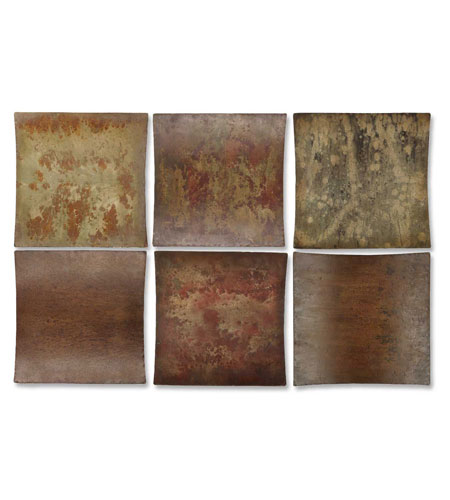 Uttermost 13309 Miki Collage 14 X 14 inch Metal Wall Art