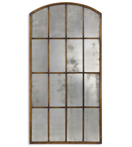 Uttermost 13464 P Amiel Large Arch 82 X 42 Inch Heavy Maple Brown Wash Wall