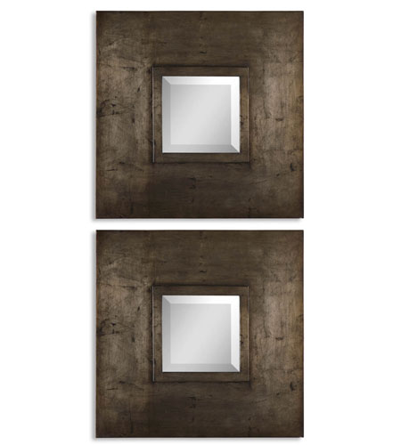 uttermost 13616 b plaza squares 20 x 20 inch antiqued silver leaf wall mirrors photo uttermost 13616 b plaza squares 20 x 20 inch antiqued silver leaf      rh   lightingnewyork