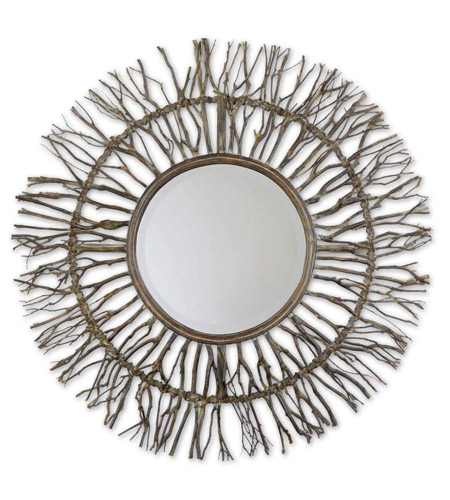 Uttermost 13705 Josiah 38 X 38 inch Real Birch Branches Mirror Home Decor photo