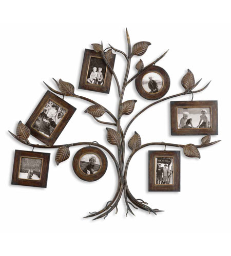Uttermost 13722 Rustic Tree 35 X 32 inch Tree Photo Collage