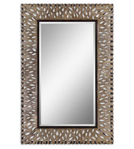 Uttermost 13767 Na 72 X 47 Inch Antiqued Silver Leaf Wall Mirror Photo