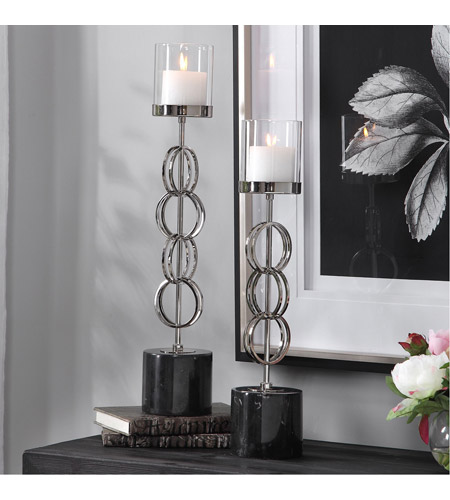Uttermost 17564 Esme 25 X 5 inch Candleholders, Set of 2 17564_Beauty.jpg
