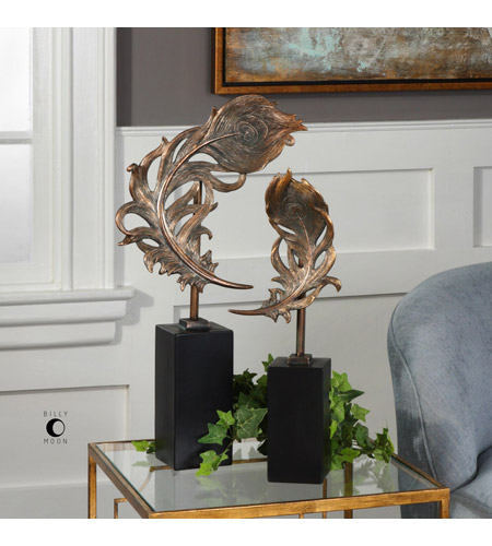 Uttermost 18817 Quill Feathers 25 X 13 inch Sculptures