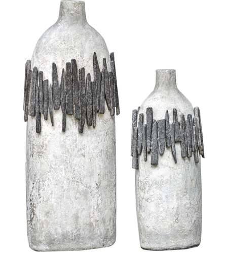 Uttermost 18857 Rutva 28 X 10 inch Vases, Set of 2