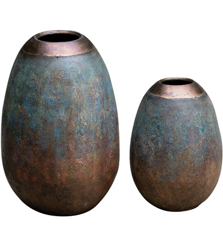 Uttermost 18862 Pavak 26 X 15 inch Vases, Set of 2