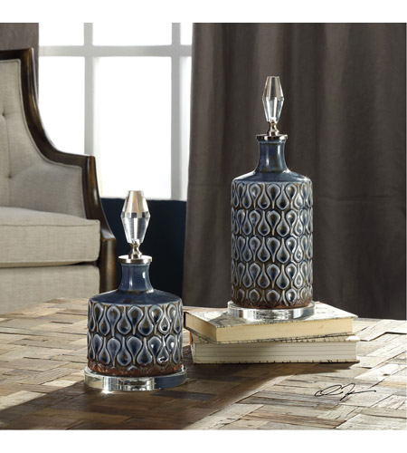 Uttermost 18886 Varuna 14 X 5 inch Bottles, Set of 2 18886-Lifestyle.jpg
