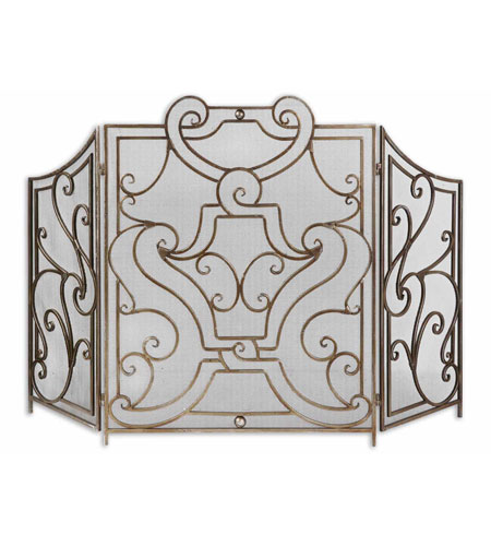 Uttermost 19420 Rama 52 X 35 inch Fireplace Screen
