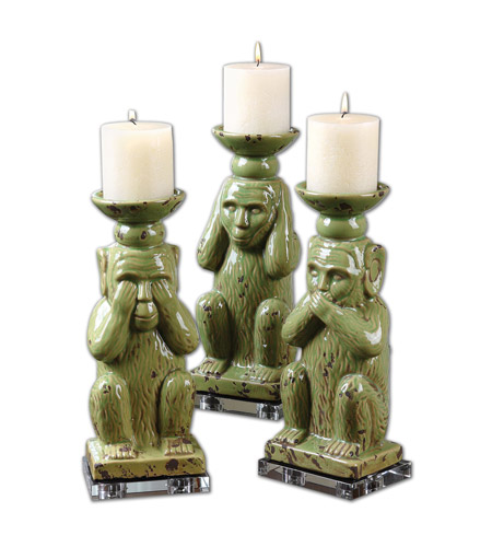 Uttermost 19864 Toma 13 X 5 inch Candleholders