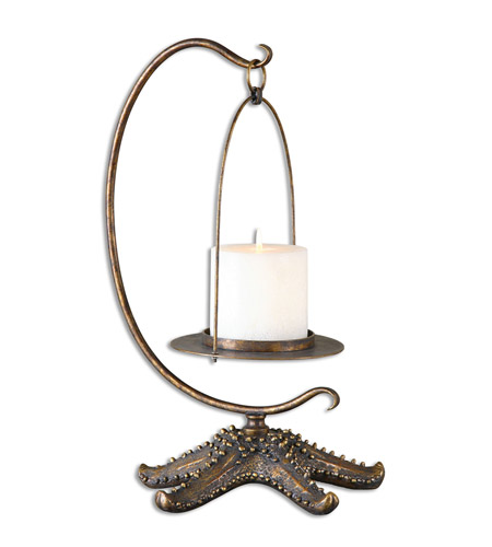 Uttermost 19934 Starfish 19 X 11 inch Candleholder