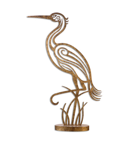 Uttermost 19937 Perched Egret 43 X 26 inch Sculpture