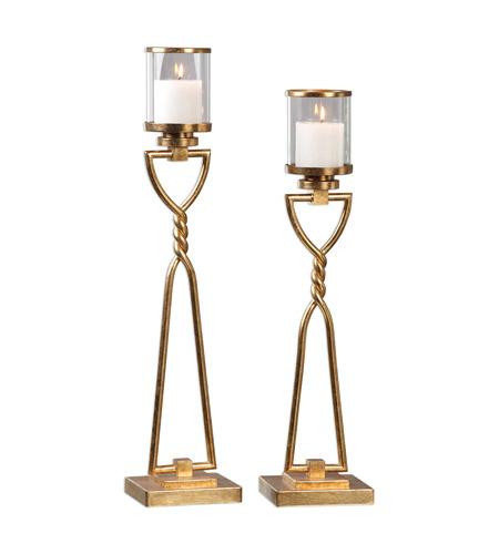 Uttermost 20182 Susana 28 X 6 inch Candleholders, Set of 2