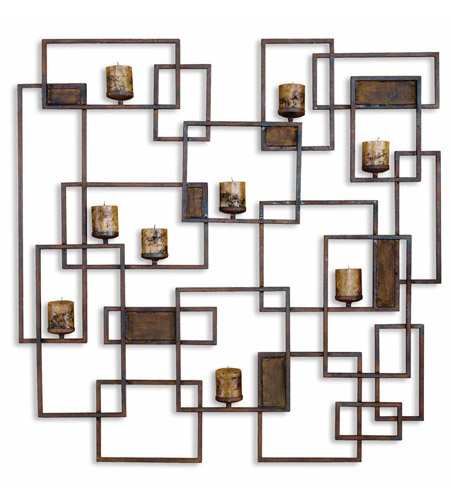 Uttermost 20850 Siam 48 X 48 inch Wall Candleholder photo