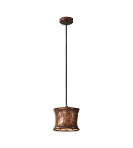 Uttermost 21851 Marcel Copper 1 Light 9 inch Metallic Copper Mini Pendant Ceiling Light photo
