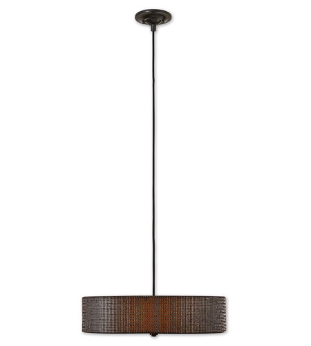 Uttermost Diamanta 3 Lt Hanging Shade in Petite Glass Crystals 21882 photo