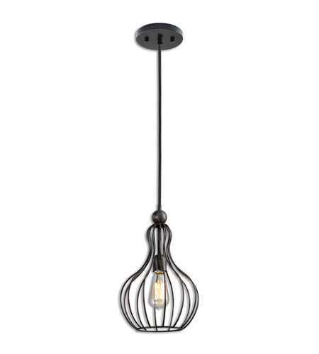 Uttermost Black Metal Pendants